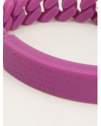 Marc By Marc Jacobs - Purple Standard Supply Bracelet - Lyst