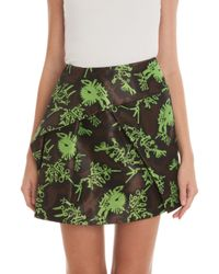 KENZO - Multicolor Monster Jacquard Mini Skirt - Lyst