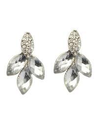John Lewis | Metallic Four Petals Stud Earring | Lyst