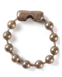 MM6 by Maison Martin Margiela | Metallic Beaded Bracelet | Lyst