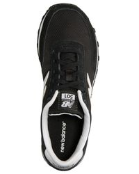 New Balance | Black Men's 501 Casual Sneakers From Finish Line for Men | Lyst