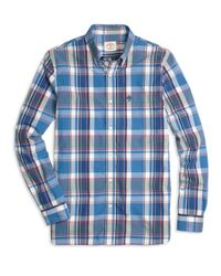 Brooks Brothers | Blue Large Multi Plaid Sport Shirts for Men | Lyst
