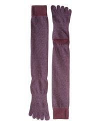 ToeSox - Purple Casual Full Toe Knee High - Lyst