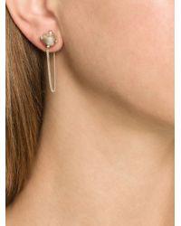 Henson | Metallic Claw Chain Earrings | Lyst