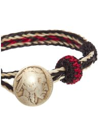 Chamula - Red Concho Bracelet for Men - Lyst