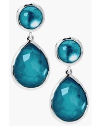 Ippolita | Blue 'rock Candy - Snowman' Drop Earrings | Lyst