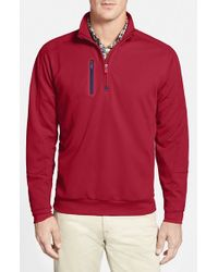 Bobby Jones | Red Quarter Zip Pullover for Men | Lyst