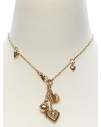 Banana Republic | Metallic Vintage Charm Necklace | Lyst