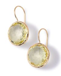 Ippolita - Metallic 18k Gold Lollipop Drop Earrings - Lyst