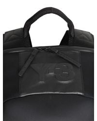 Y-3 - Black Quasa Neoprene & Leather Backpack for Men - Lyst