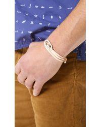 Miansai - Natural New Gamle Bracelet for Men - Lyst