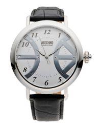 Boutique Moschino - Metallic Wrist Watch - Lyst