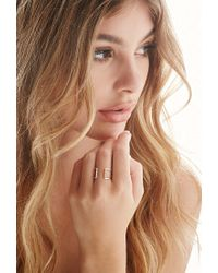 Forever 21 - Metallic By Boe Cage Ring - Lyst