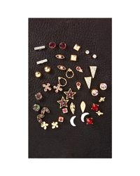 Express - Multicolor 20 Pack Stud Earring Set - Lyst