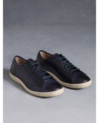 John Varvatos - Blue Hattan Low Top Sneaker for Men - Lyst