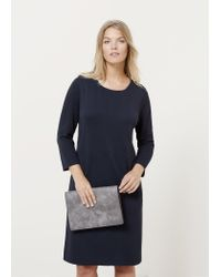 Violeta by Mango | Blue Zip Dress | Lyst