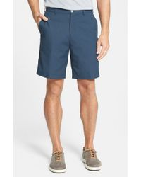 Peter Millar | Blue 'salem' Moisture Wicking Performance Shorts for Men | Lyst
