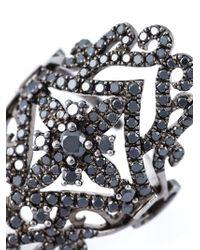 Elise Dray | Metallic Diamond Regal Ring | Lyst