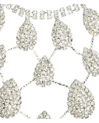 H&M - Metallic Sparkly Necklace And Earrings - Lyst