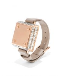 BaubleBar - Pink Salsa Bracelet & Up Move By Jawbone Duo - Taupe - Lyst