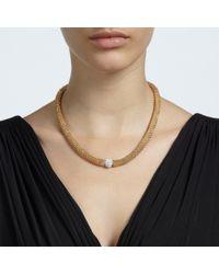John Lewis | Metallic Plain Effervescence Crystal Necklace | Lyst