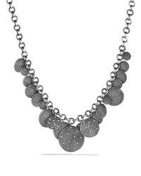 David Yurman - Metallic Cable Coil Necklace - Lyst