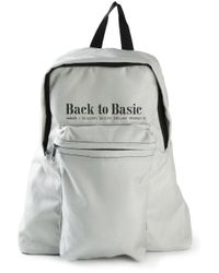 Haus By Golden Goose Deluxe Brand | Gray X Ggdb 'Tool' Backpack | Lyst