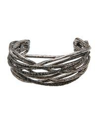 Roberto Cavalli | Gray Bracelet | Lyst
