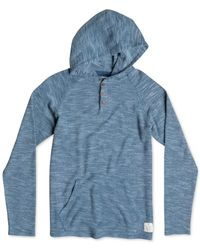 Quiksilver | Blue Dresden Hooded Sweatshirt for Men | Lyst