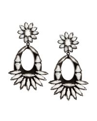 DANNIJO - Black Blanca Earrings - Lyst