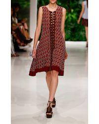 Dorothee Schumacher - Red Inspiration Points Dress - Lyst