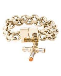 Givenchy | Metallic Cross Bracelet | Lyst