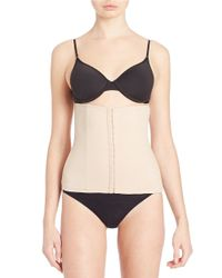 Tc Fine Intimates - Natural Hook And Eye Waist Cincher - Lyst