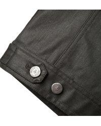 Onassis Clothing | Gray Coated Shirt Jacket for Men | Lyst