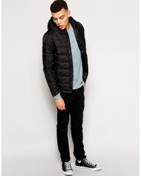 G-Star RAW | Black G Star Salvos Quilted Nylon Jacket for Men | Lyst