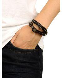 DIESEL - Brown Bracelet for Men - Lyst