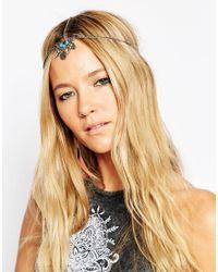 ASOS | Multicolor Coin Spike Hair Crown | Lyst