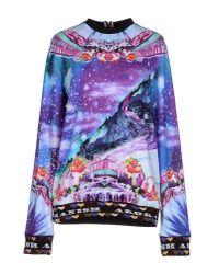 Manish Arora Blue Sweatshirt