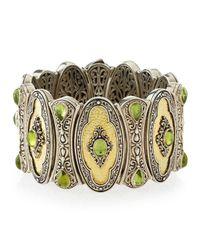Konstantino | Metallic Aspasia Peridot Cuff Bracelet | Lyst