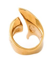 Giuseppe Zanotti   Metallic 'diva' Ring   Lyst