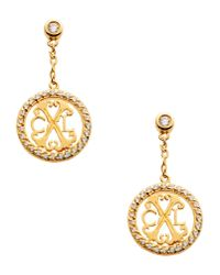 Christian Lacroix | Metallic Earrings | Lyst
