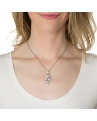 Ben-Amun | Metallic Crystal Pendant Necklace | Lyst