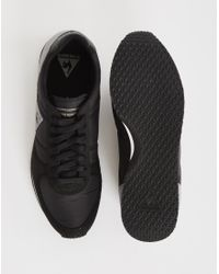 Le Coq Sportif | Bolivar Classic Black for Men | Lyst