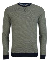 Ted Baker - Green Shumue Woven Sweatshirt for Men - Lyst