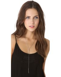 Vanessa Mooney - Metallic New Light Rosary Necklace - Lyst