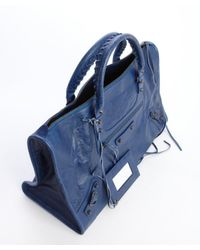 Balenciaga - Cobalt Blue Lambskin Large Work Bag - Lyst