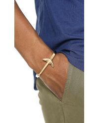 Miansai - Metallic Anchored Cuff for Men - Lyst