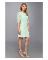 Pendleton - Green Lace Dress - Lyst