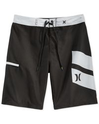 Hurley | Black Icon Slash Board Shorts for Men | Lyst