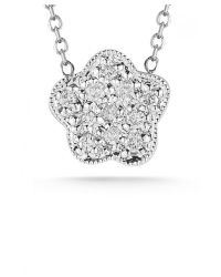 Dana Rebecca | Rima Naya Mini Necklace In White Gold | Lyst